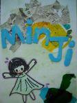 Min Ji sketchbook cover G7