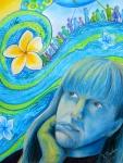 Reflection by Mrs Jardin- mixed media
