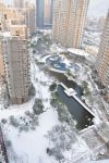From our apartment after it snowed.