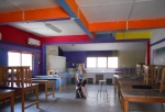 The classroom when I first arrived