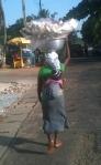 The bread seller near the school
