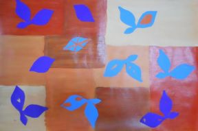 Matisse Inspired Leaves.