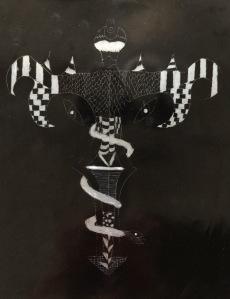 Scratch art letter - 8 of 8