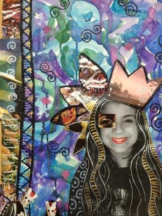 Teesha Moore style collage