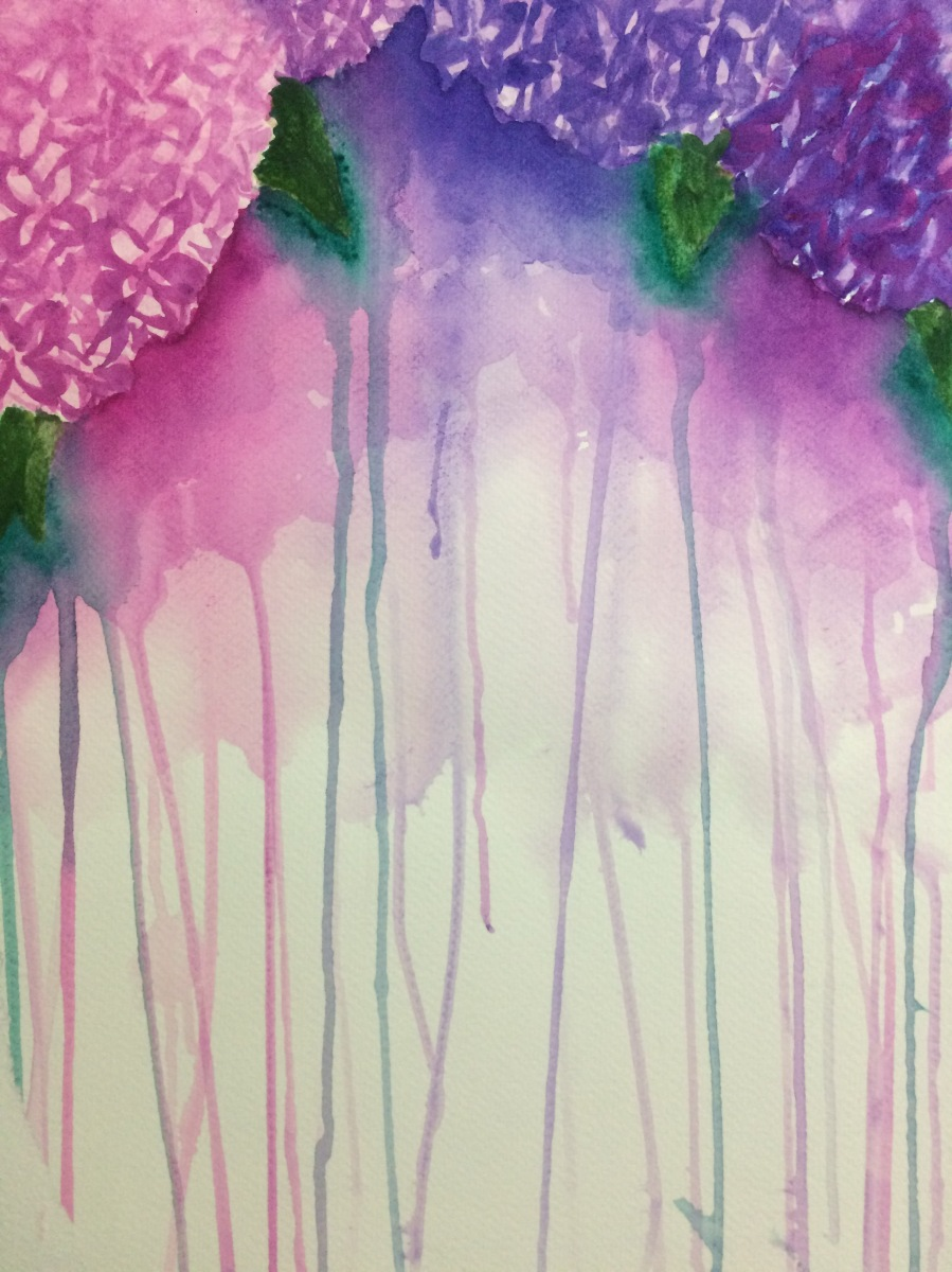 Grade 8 Watercolours Are Complete
