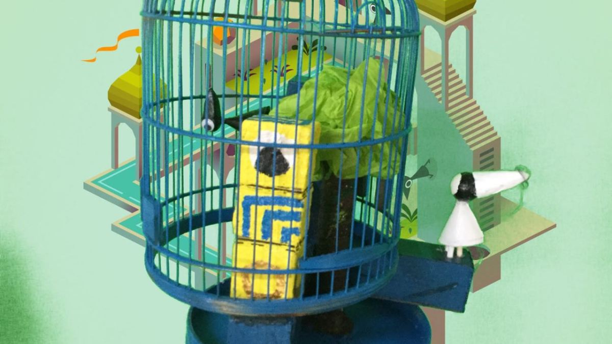 G7 Birdcage Sculptures and Animations