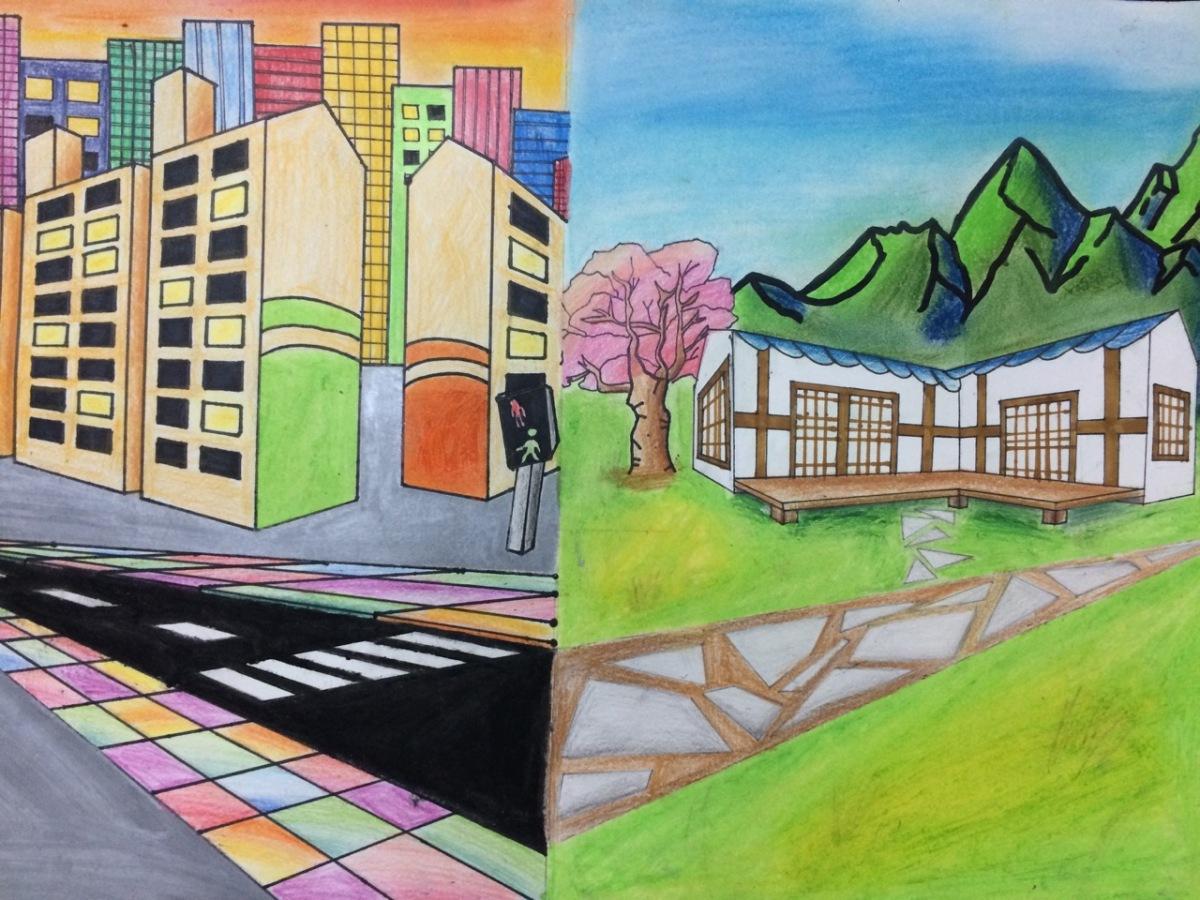 Terrance Osborne Inspired Art, Grade 7