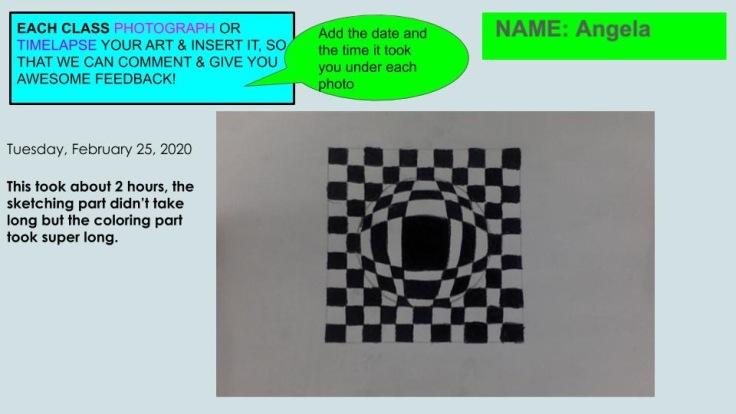 G6 Optical Art Documentation 2020